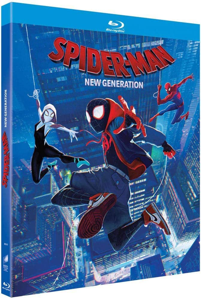 spiderman new generation bluray  bluecats collectibles